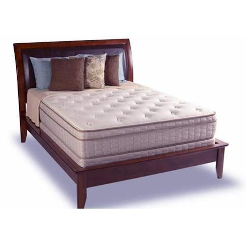 Diamond Mattress Dream Collection Reflection Queen Euro Top Mattress Set