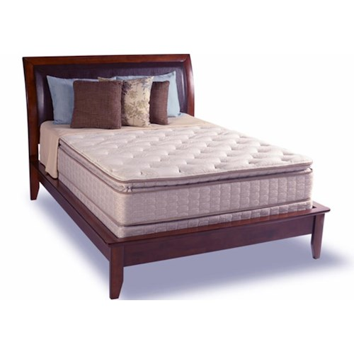 Diamond Mattress Dream Collection Reflection Queen Pillow Top Mattress and Kelly 8