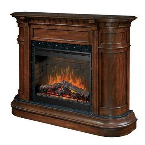 Dimplex Flat Wall Fireplaces Carlyle Electric Fireplace