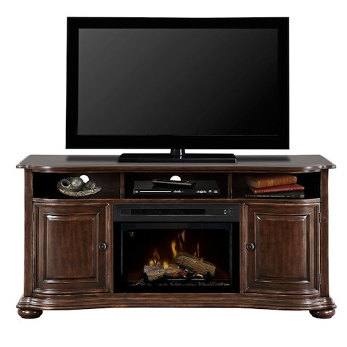 Dimplex Henderson Dimplex Media Console with Electric Firebox