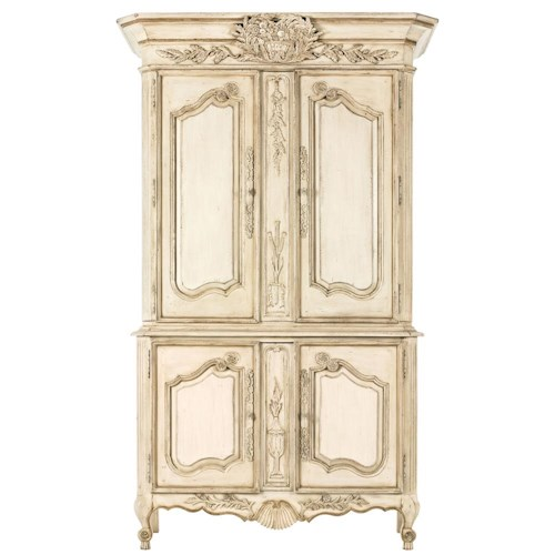 Drexel Heritage® At Home in Belle Maison Armoire of Prosperity with Four Doors