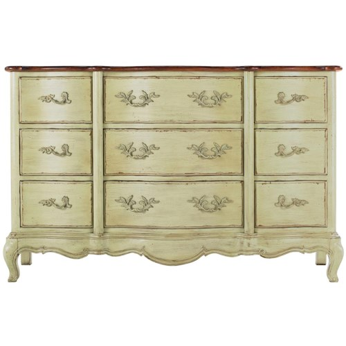 Drexel Heritage® At Home in Belle Maison 9 Drawer Dresser of Treasures
