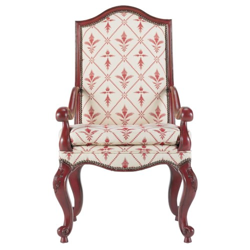 Drexel Heritage® At Home in Belle Maison The Parlor Upholstered Arm Chair