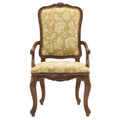 Drexel Heritage® At Home in Belle Maison Upholstered Royal Arm Chair