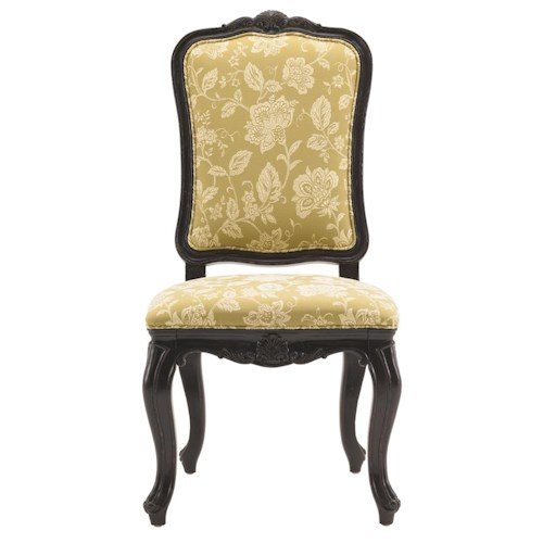 Drexel Heritage® At Home in Belle Maison Upholstered Royal Side Chair