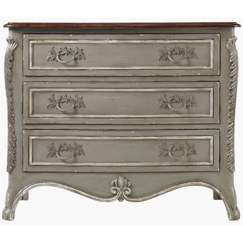 Drexel Heritage® At Home in Belle Maison Three Drawer Handsome Chest