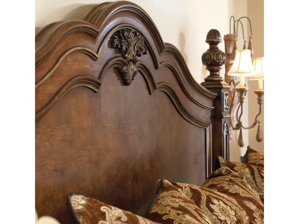 Detail of headboard