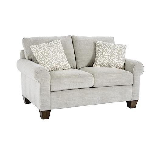 Drexel Heritage® Drexel Heritage Upholstery Marcello Customizable Loveseat