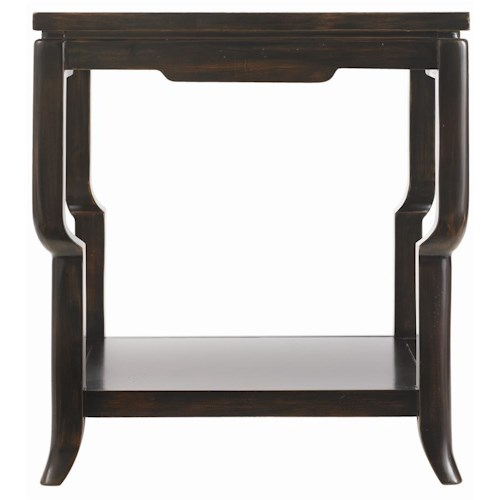 Drexel Heritage® Et Cetera Modern Ming Square Lamp Table