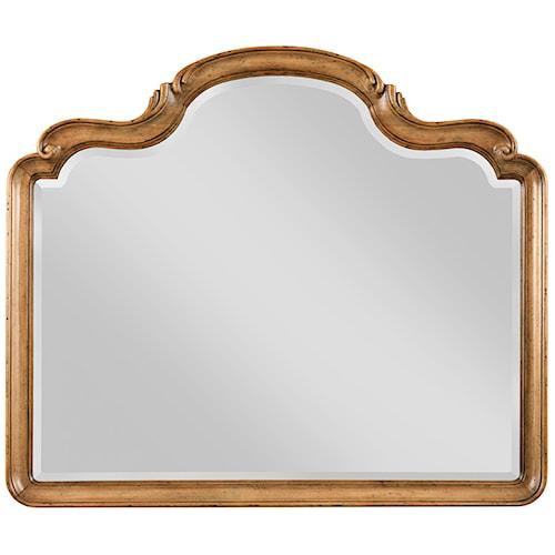 Drexel Heritage® European Market Crown Mirror w/ Clear Plate