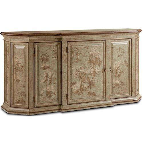 Drexel Heritage® European Market Flander Sideboard w/ 5 Doors