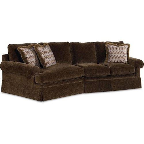 Drexel Heritage® Options Upholstery Program Customizable Natalie 2-Piece Sectional