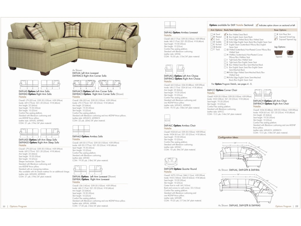 Create Your Ideal Sofa with an Array of Custom Options