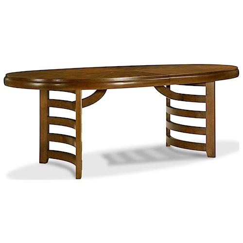 Drexel Heritage® Renderings Leade Oval Dining Table
