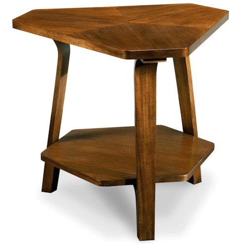 Drexel Heritage® Renderings Etch Bunching End Table w/ Lower Shelf