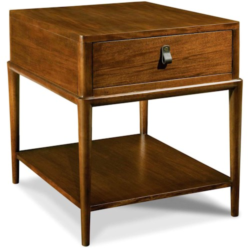Drexel Heritage® Renderings Quoin End Table w/ Drawer