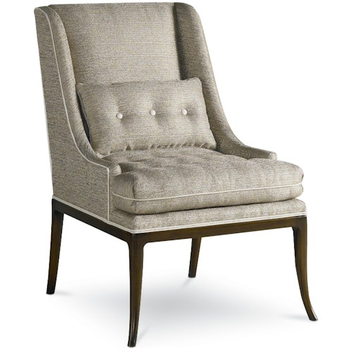 Drexel Heritage® Upholstered Accents Laurie Chair w/ Tufted Seat