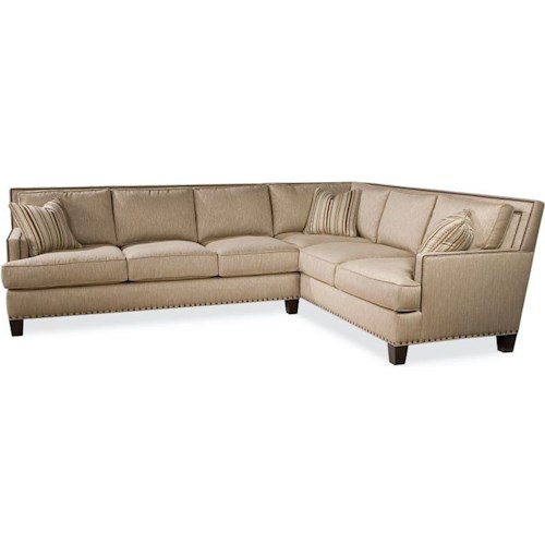 Drexel Heritage® Upholstered Accents Breland 2-Piece Sectional Sofa