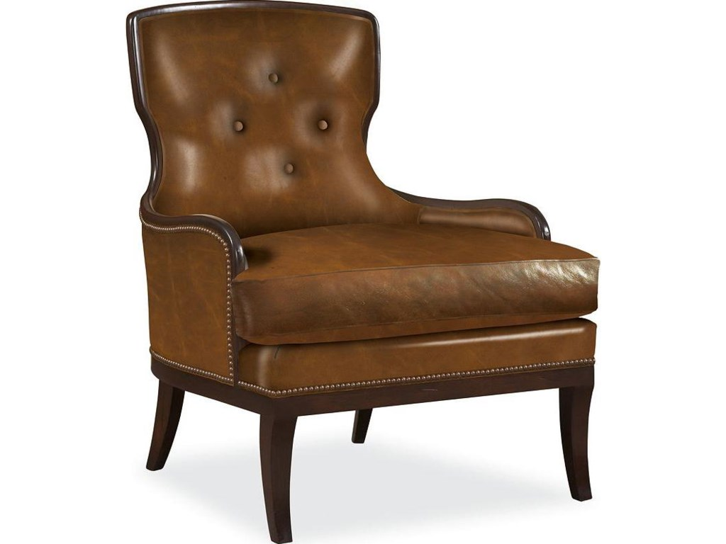 Shown in Alternate Leather Upholstery