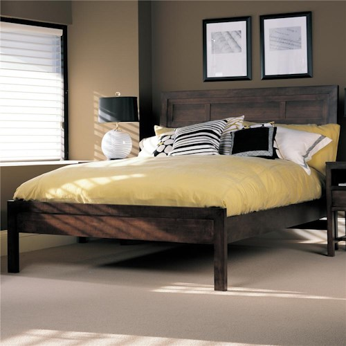 Durham Soma  Contemporary Panel Bed