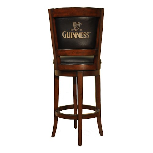 E.C.I. Furniture Bar Stools Guinness Swivel Stool