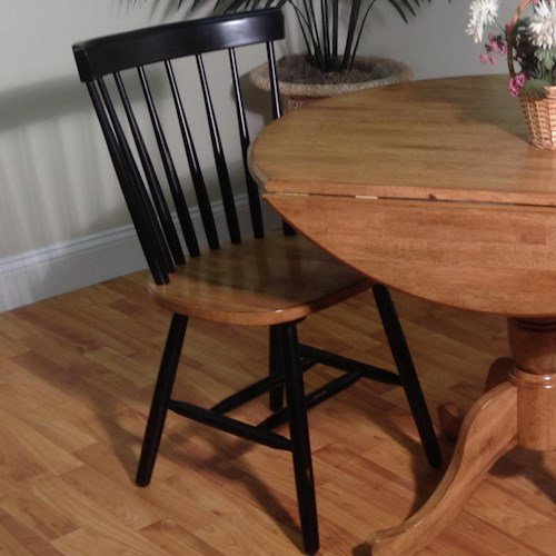 E.C.I. Furniture Dining  Caprail Dining Side Chair