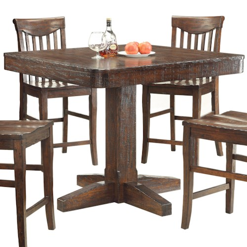 E.C.I. Furniture Gettysburg Counter Height Dining Table