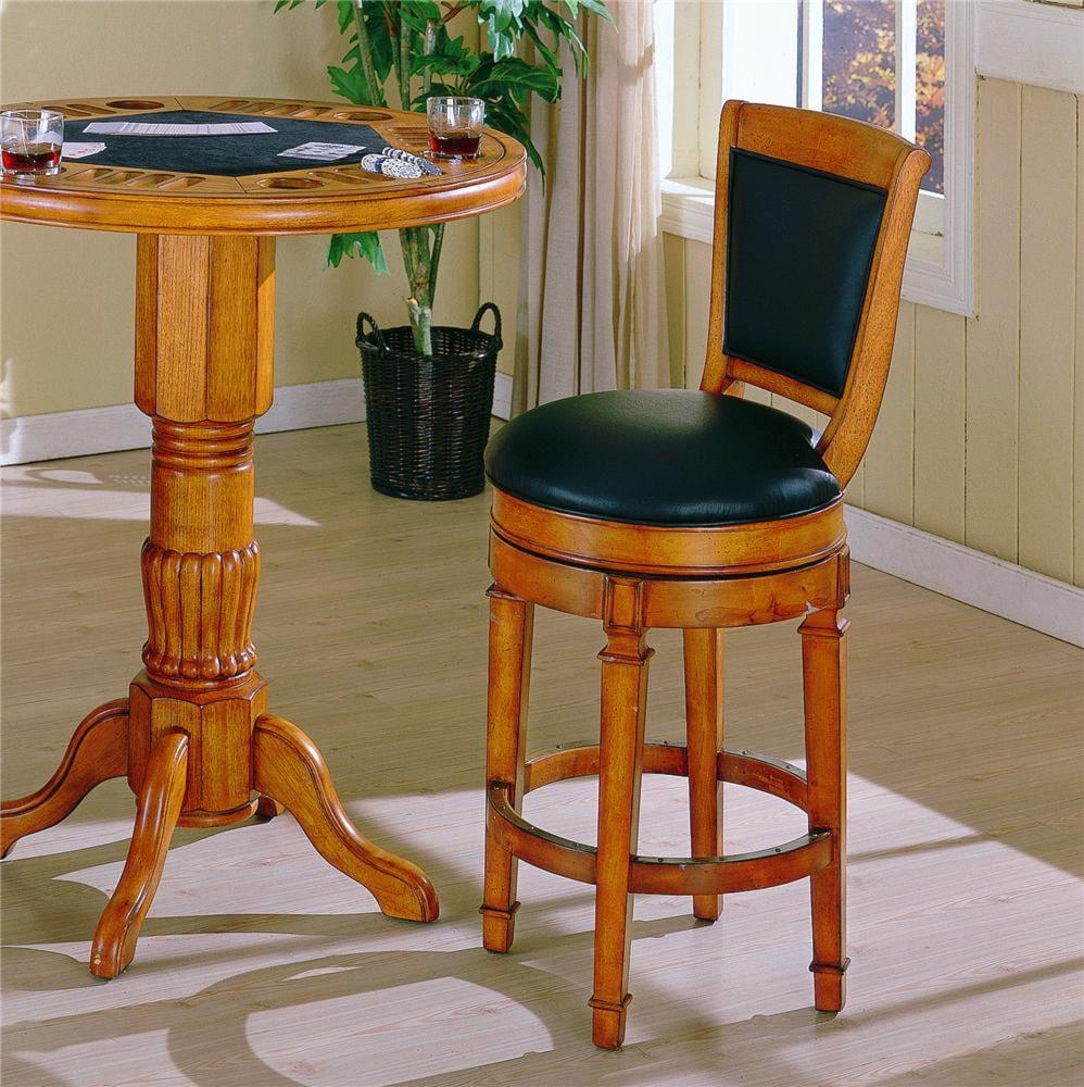 E C I Furniture Monticello Swivel Bar Stool Becker