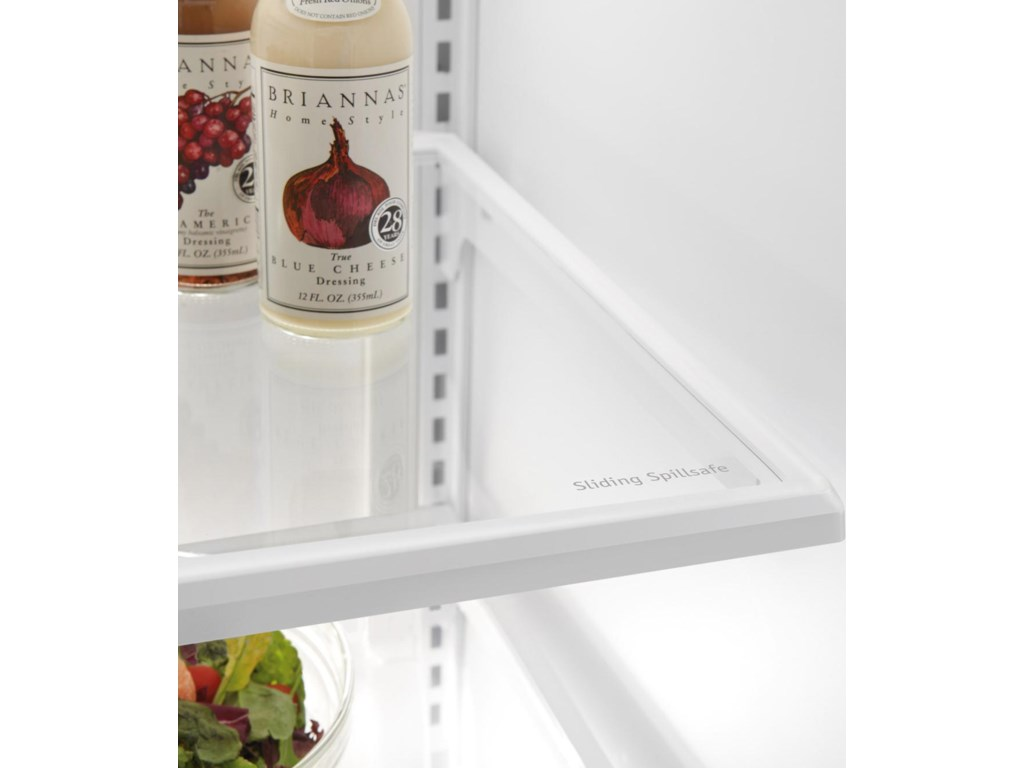 Sliding SpillSafe® Glass Shelves