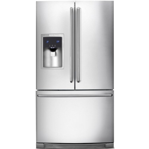 Electrolux French Door Refrigerators ENERGY STAR® 23 Cu. Ft. Counter-Depth French Door Refrigerator with Wave-Touch® Controls