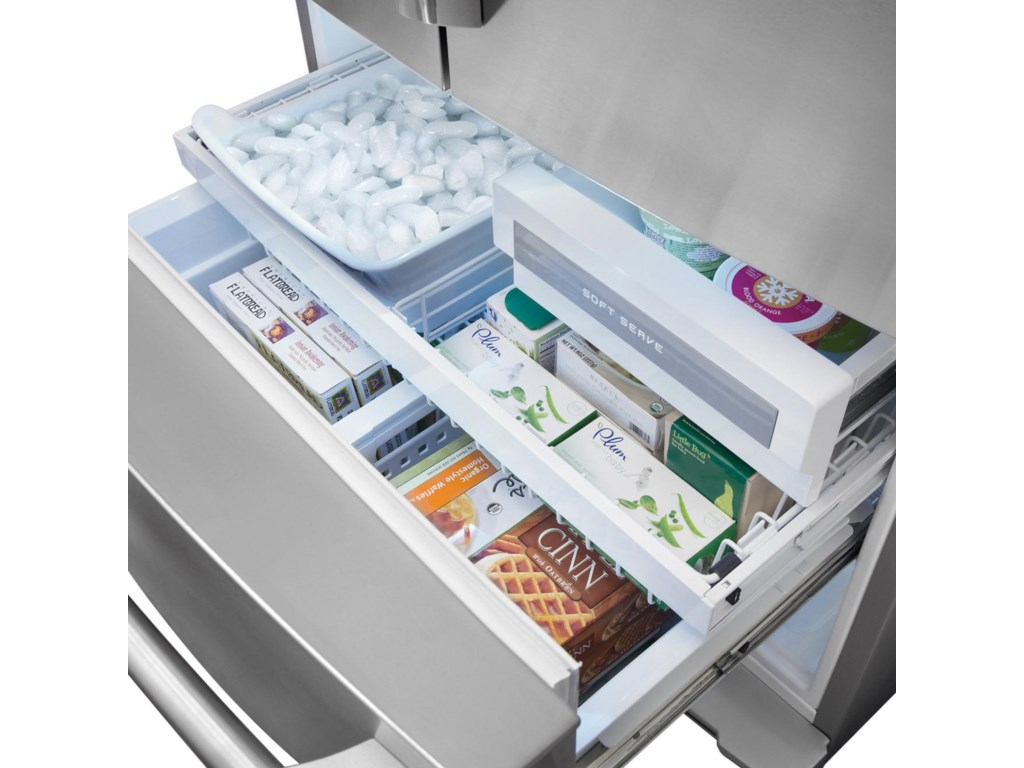 Luxury-Glide® Freezer Drawers
