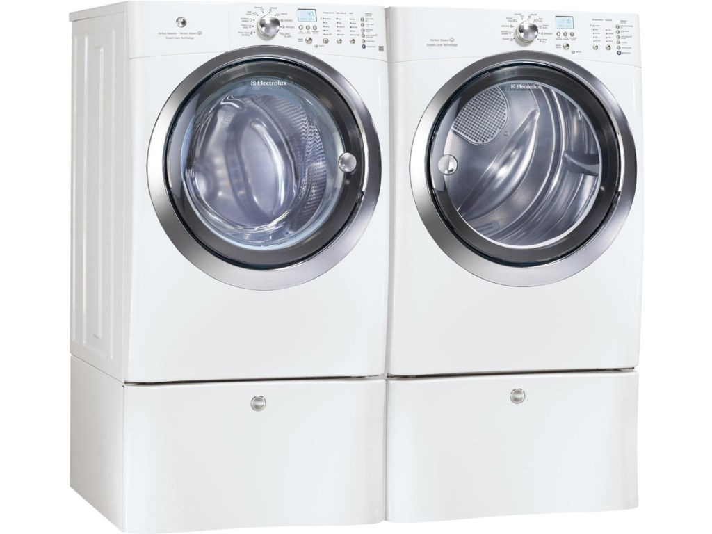 Shown with Matching Washer and Optional Storage Pedestals