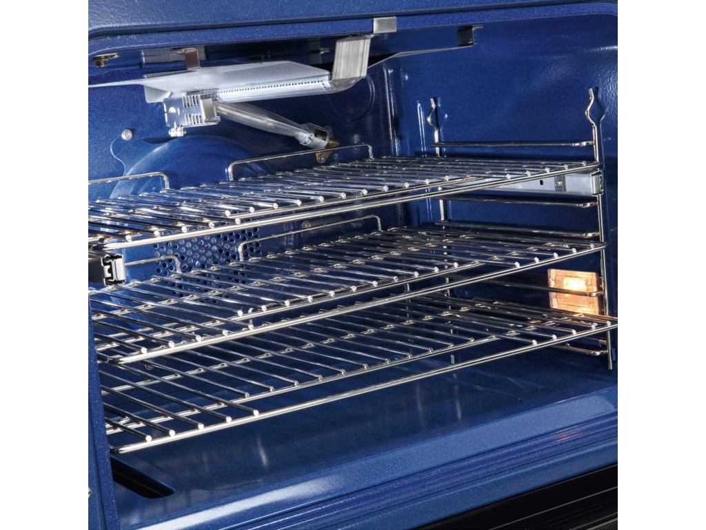 Oven Rack Extends Effortlessly with a Ball-Bearing System