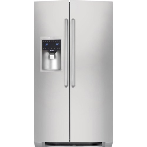 Electrolux Side-By-Side Refrigerators ENERGY STAR® 23 Cu. Ft. Counter-Depth Side-by-Side Refrigerator with IQ-Touch™ Controls