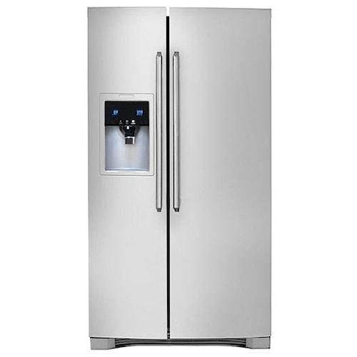 Electrolux Side-By-Side Refrigerators 25.57 Cu. Ft. Side-By-Side Refrigerator with Wave-Touch® Controls