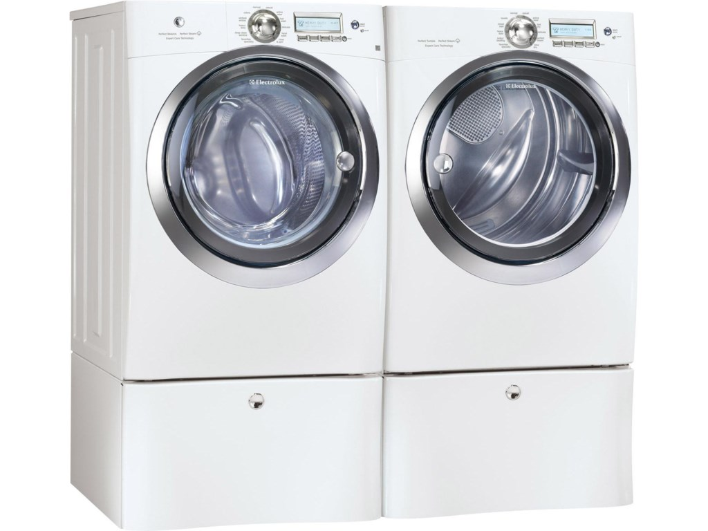 Shown with Dryer and Optional Pedestals