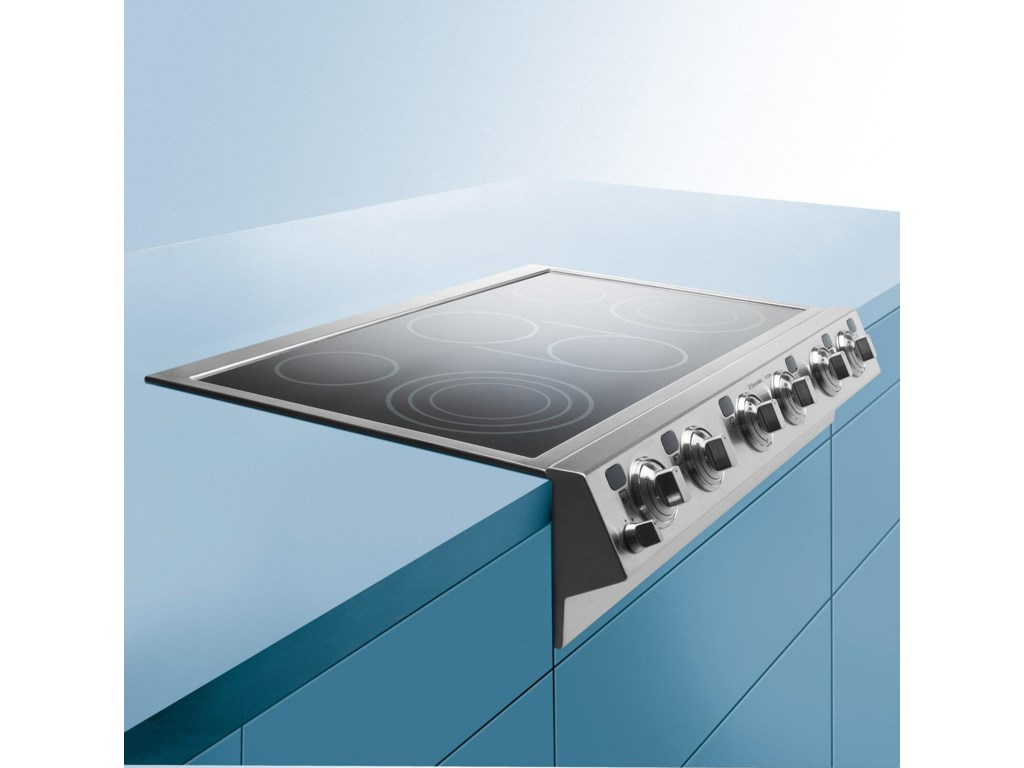 Sleek Smoothtop Glass Design