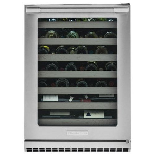 Electrolux ICON® Wine Storage - Electrolux ICON Electrolux ICON® Right-Hand Door Swing Under-Counter Wine Cooler