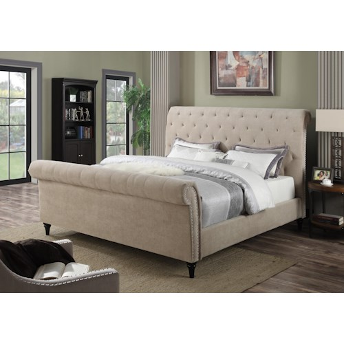 Morris Home Furnishings Arcadia Queen Bed