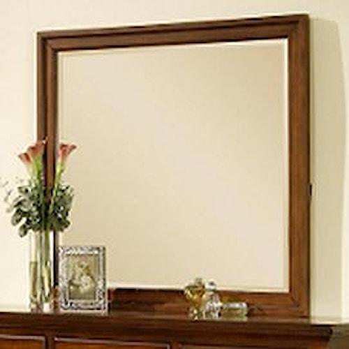 Elements International Cambridge Framed Landscape Dresser Mirror
