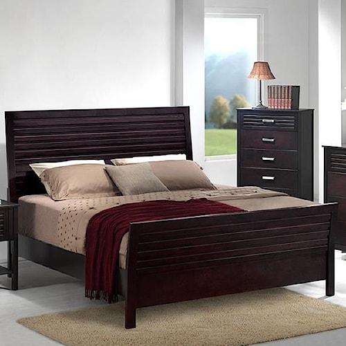 Devon Queen Panel Wood Bed Dream Home Furniture Headboard Footboard Roswell Kennesaw