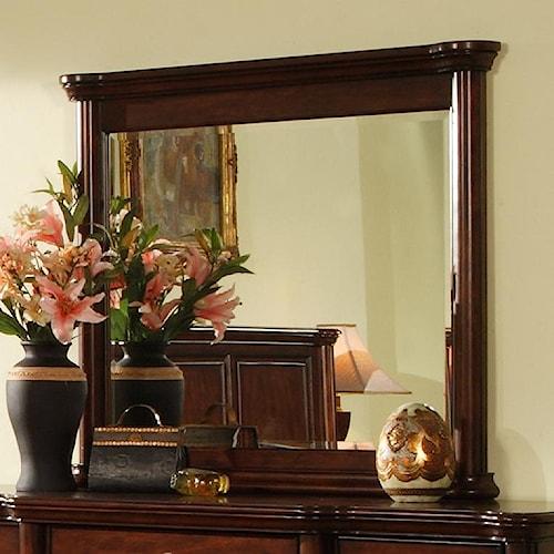 Morris Home Furnishings Lockport Mirror