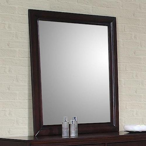 Elements International Raven Mirror