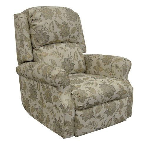 England Marybeth Comfortable Rocker Recliner with Power for Living Room Furniture Display
