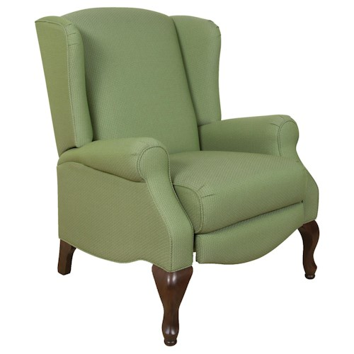 England 410 Martha Traditional Styled Push Back Motion Chair