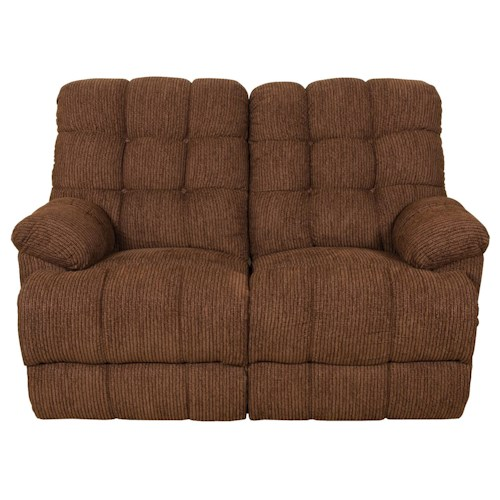 England 5610 Miles Casual Styled Double Reclining Loveseat with Power