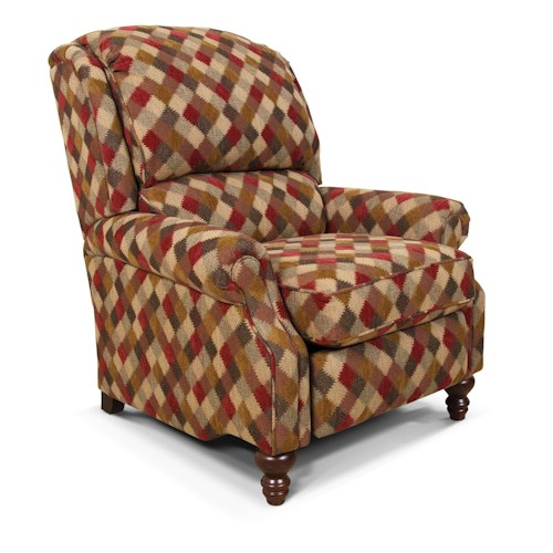 England Frances Plush Recliner