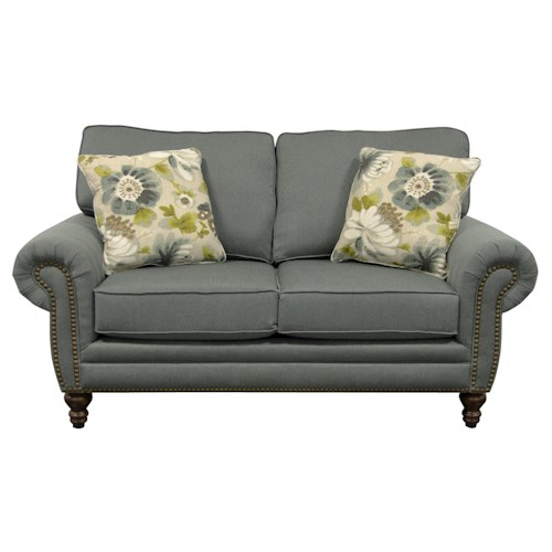 England Amix  Traditional Styled Two Seat Loveseat