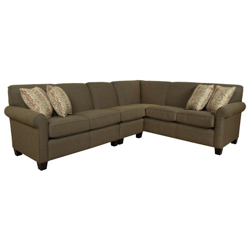 England Angie  Large Corner Sectional Sofa