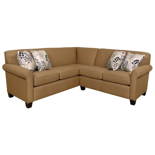 England Angie  Small Corner Sectional Sofa